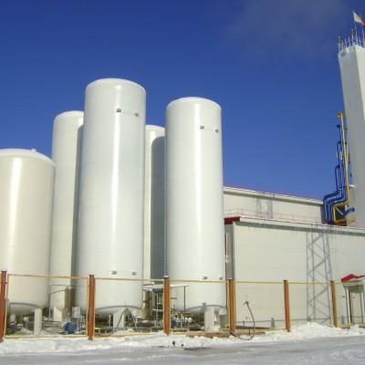 Криогенные системы хранения и газификаторы жидких криогенных продуктов