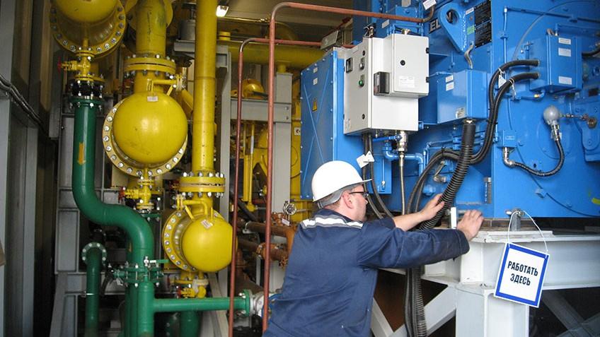 Техническое обслуживание газовых дожимных компрессоров Череповецкой ГРЭС