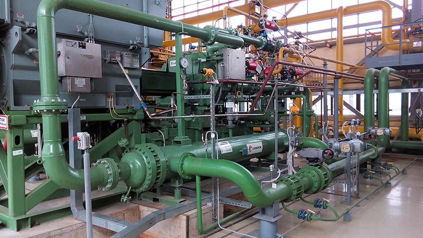 Сервисное обслуживание компрессорного оборудования Киришской ГРЭС ПАО