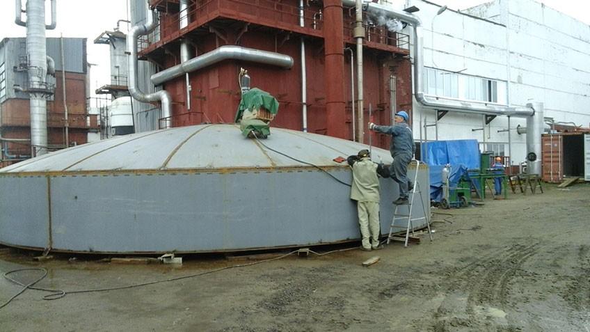 Поставка и монтаж криогенного резервуара для ПАО
