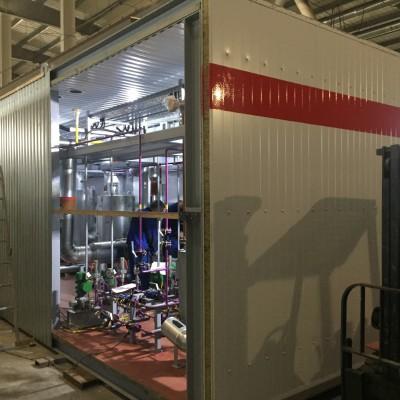 Установка осушки серосодержащих газов отгружена на площадку заказчика