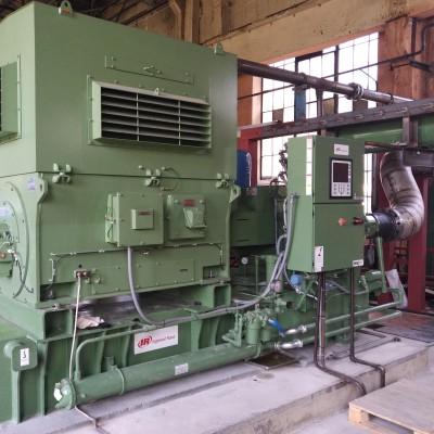 Пусконаладочные работы компрессорного оборудования для АО