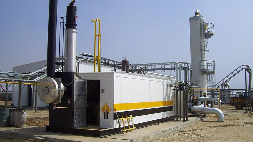 Установка осушки газа